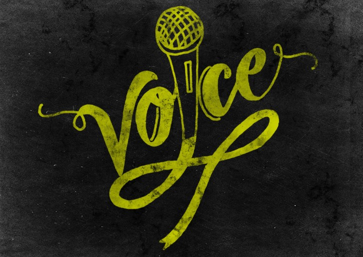 Word prompt: Voice