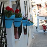 Spain flower pots