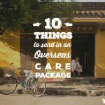 10 things overseas care package