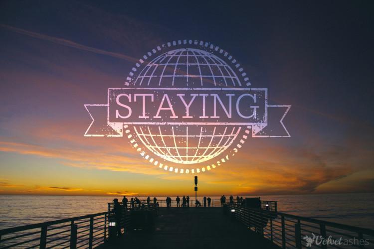 staying 2
