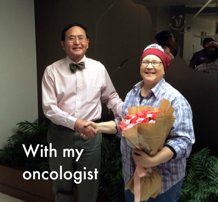 With Dr. Lau