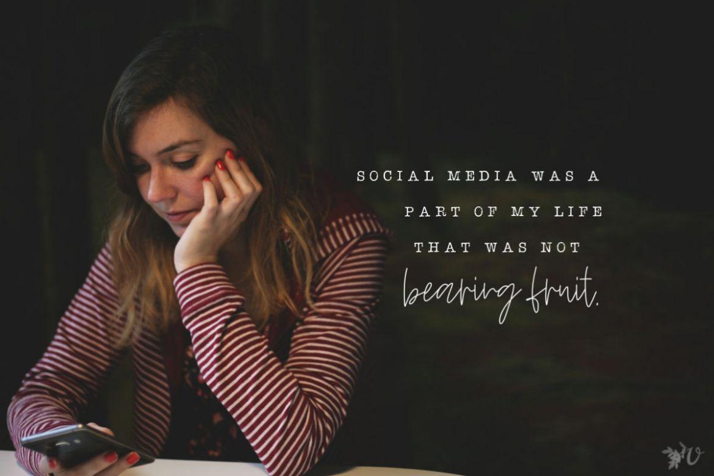 social media fruit