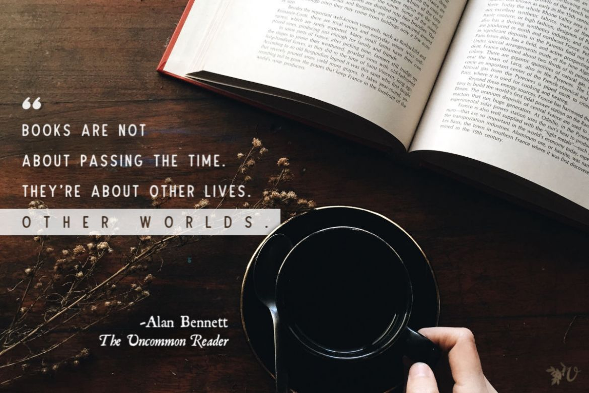books are not about passing time