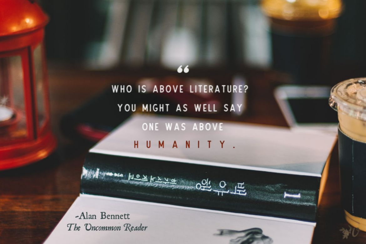 who is above literature
