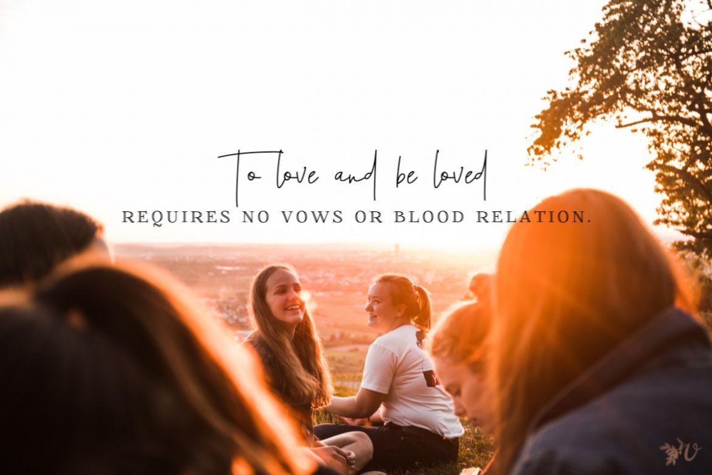 singleness commitment to community