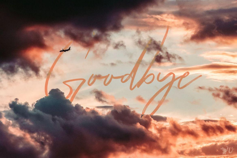goodbye prompt