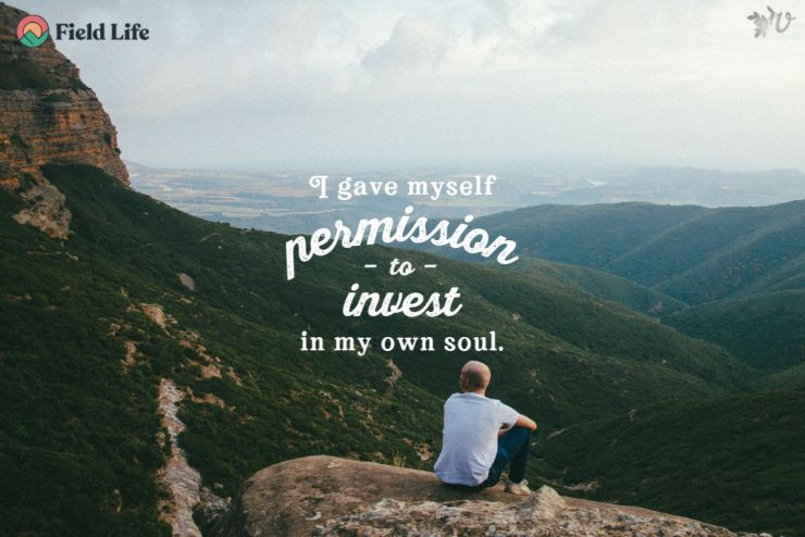 I give myself permission