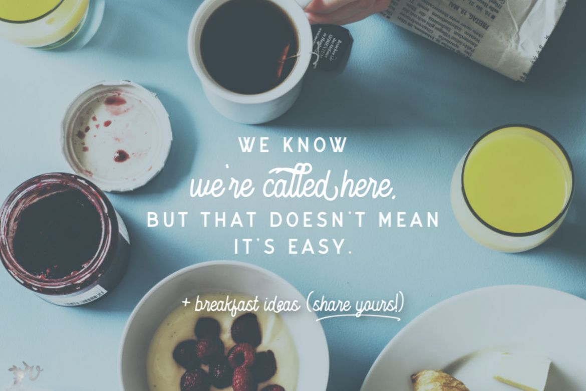 The Fuzzy Line of Vulnerability + Breakfast Ideas (Share Yours!)