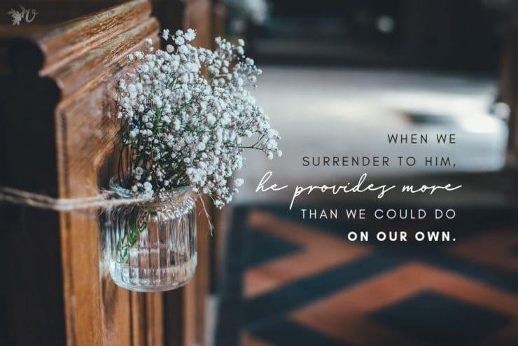 When God Provides Abundantly More